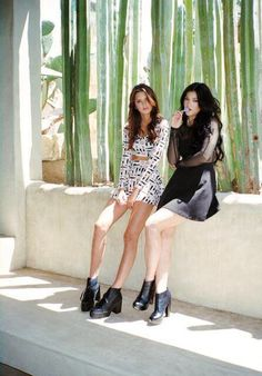 Kendall&Kylie Jenner  Clothes from their pac sun collection  Love Kyle shoes