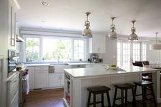 Window in L Shaped kitchen