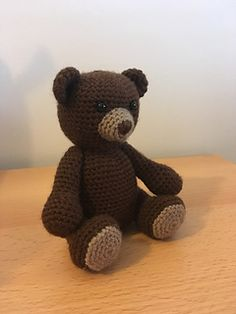 This amigurumi polar bear is perfect for the snow and christmas time.