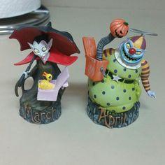 Vampire (March)..Clown (April)