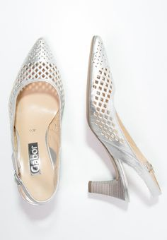 792552a2c251cc Gabor Pumps - silber - Zalando.se Gold Shoes