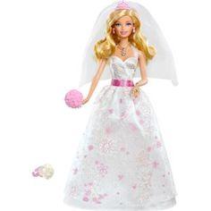 Boneca Barbie Noiva - Mattel, a realização do lindo sonho do casamento.