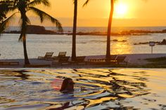 Sunset swim at Punta Mita