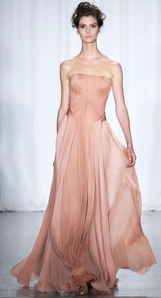 Zac Posen Ready To Wear Spring 2014