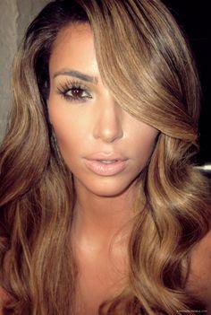 kim kardashian blonde hair - Google Search