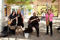 Alive on Arrival at Belmar in Lakewood! #Jazz #WeddingMusic #Colorado
