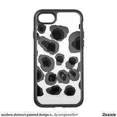 modern abstract painted design otterbox case #otterboxcase #iphone7case