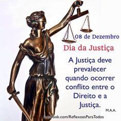 08 de Dezembro - Dia da Justiça