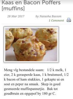 Savoury cheese and pancetta puffs - keeper 9/10