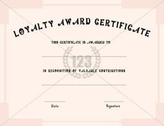 Employee Recognition Certificate Template Awards 9 Free Word Pdf Reciation Certificates Use