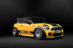 "Cobra plans to build a ""race"", therefore the selected Mini Cooper S models. First car . Mini Clubman, Mini Countryman, Mini Paceman, Yellow Mini Cooper, 2006 Mini Cooper, Mini Cooper Amarillo, Mini Coper, John Cooper Works, Mini S"