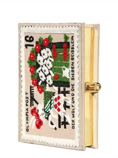 OLYMPIA LE-TAN - MINI FAIRYTALE BOOK CLUTCH - LUISAVIAROMA - LUXURY SHOPPING WORLDWIDE SHIPPING - FLORENCE