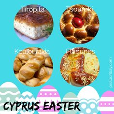 Cyprus Easter baked treats #cypruseaster #orthodoxeaster #easterbaking #cypriotfood https://plus.google.com/+PissouribayCyp/posts/ar65WG4aeWp