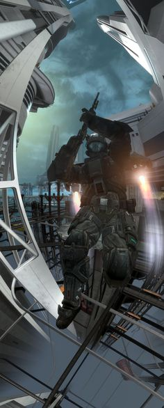 Halo Reach - Welcome to the bullfrogs by stuckart