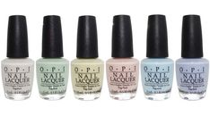 OPI Soft Shades Pastel Collection Spring 2016 Nail Lacquer - It's In The Cloud, This Cost Me A Mint, One Chic Chick, Stop It I'm Blushing, It's A Boy & I Am What I Amethyst - 15 mL 0.5 oz