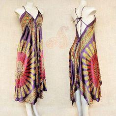 Vestidos lenço indianos acetinados. Atraente beleza.  Por apenas R$ 8990  Peça o seu pelo Whatsapp: 13982166299