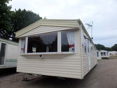 Simple Caravan For Hire At Happy Days North Wales Towyn  UK Caravan Rental
