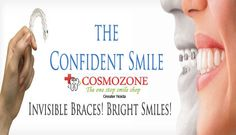 """"""" A Brighter New Smile""""....#braces  Restore your Teeth to Natural Shape & We create a beautiful Smile.....  Visit:goo.gl/gVX6b7"""