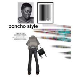 """poncho style"" by lianafourmouzi ❤ liked on Polyvore featuring Piazza Sempione, Barbara Bui, Alexander McQueen, McQ by Alexander McQueen and Eleanor Stuart"