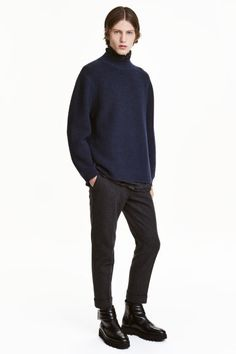 Wool turtleneck jumper: STUDIO COLLECTION/PREMIUM QUALITY. Ribbed jumper in wool…