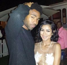 Childish Gambino and Jhene Aiko Donald Glover, Childish Gambino, Jhene Aiko, People Of Interest, I Have A Crush, My Forever, Her Music, Celebs, Celebrities