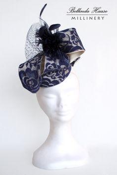 NATA BY BELLINDA HAASE #HatAcademy #millinery #hats