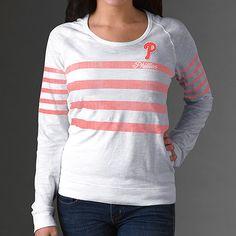 Philadelphia Phillies Paradise Boat Neck T-Shirt by '47 Brand - MLB.com Shop
