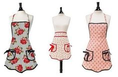 Jessie Steele aprons are vintage-inspired designer hostess aprons for the retro-chic hostess! Check out our collection today.