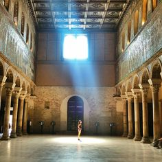 In awe of the magnificent Byzantine mosaics of Ravenna! - Instagram by ccfoodtravel