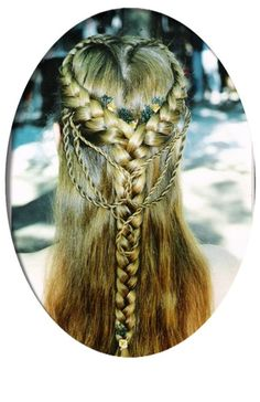 heart braid | Tumblr