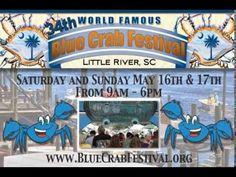 Blue Crab Festival @ Little River,SC this Spring 2015