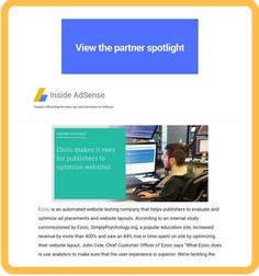 google certified publishing partner spotlight