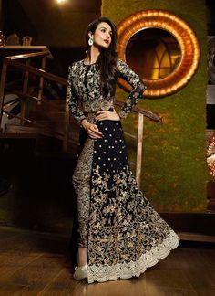 Include yourself in a glamour of a season with this elegant Black Georgette Unstitched Pant Suit. The lovely Lace & Butta Work work a substantial attribute of this attire. Buy Online Exclusive Designer Pant Suit, Wedding Wear, Party Wear, Pantsuit, dress material, Ceremonial Wear, Pantsuits, Indian Suit, Suits, Shuits For women. We have large range of Designer Pantsuit designs Online in our website with the best pricing and unique designs shipping to World Wide.