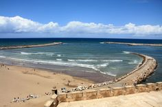Rabat, view of the sea from the Kasbah