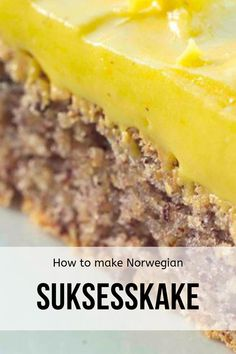 Suksesskake Recipe: How to make the almond-rich Norwegian Success Cake Norwegian Cake Recipe, Nordic Recipe, Norwegian Cuisine, Norwegian Food, European Cuisine, Scandinavian Desserts, Swedish Recipes, Norwegian Recipes, Norway Food