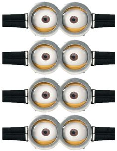 minion eyes with goggles - Google Search