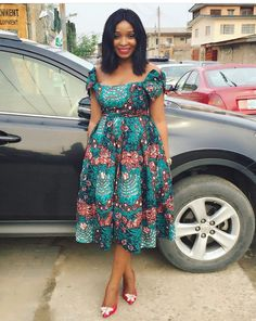 60 Most Trending Ankara Short Gown Styles 2018 For Every Woman on Latest African Fashion Dresses, African Print Dresses, African Dresses For Women, African Print Fashion, Africa Fashion, African Wear, African Attire, Latest Fashion, Fashion Online