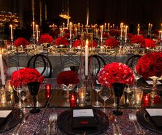 Dozens of different types of roses covered the tables from fire and ice to black magic.