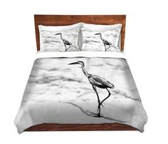 Create an enchanting nest for bedtime with a decorative Duvet Cover and Shams featuring my original artwork. Cover yourself in creativity with this ultra soft premium cotton twill duvet cover. Hand sewn and meticulously crafted, this lightweight duvet cover vividly features my