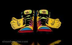 adidas ObyO Jeremy Scott Wings Multicolor