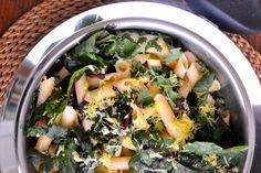 Gluten-free Rainbow Swiss Chard Lemon Stir-Fry