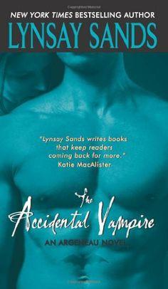 The Accidental Vampire (Argeneau Vampires, Book 7) by Lynsay Sands, http://www.amazon.com/dp/0061229687/ref=cm_sw_r_pi_dp_5aLbqb0WSAY7C