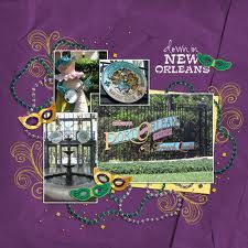 new orleans scrapbooking layouts - Google Search