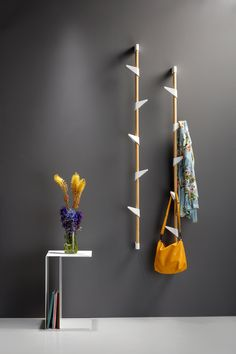 BAMBOO WALL 3 WALL COAT RACK - Built-in wardrobes from Cascando | Architonic