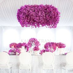 Can't get enough of orchids!!! #karentran #fuchsia #orchids