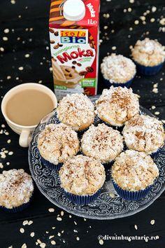 MUFFINS DE POST CU OVAZ SI CAFEA   Diva in bucatarie Breakfast, Food, Morning Coffee, Essen, Meals, Yemek, Eten