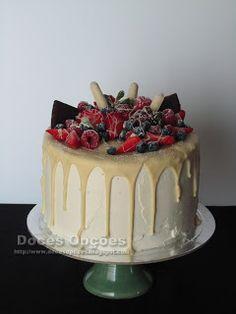 Doces Opções: Drip Cake