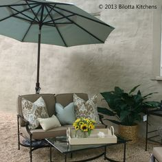 Outdoor furniture by one of our favorites - @Jane Connor ALLEN