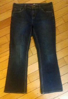 Tommy Hilfiger Boot Cut JEANS Size 12 S Jeans LADIES WOMEN'S
