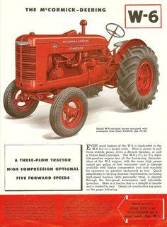 1940s McCormick-Deering Tractors